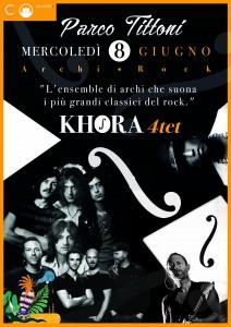 Khora Quartet - Parco Tittoni